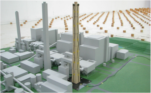 Wind Tunnel Testing for DANGJIN POWER PLANT STACK