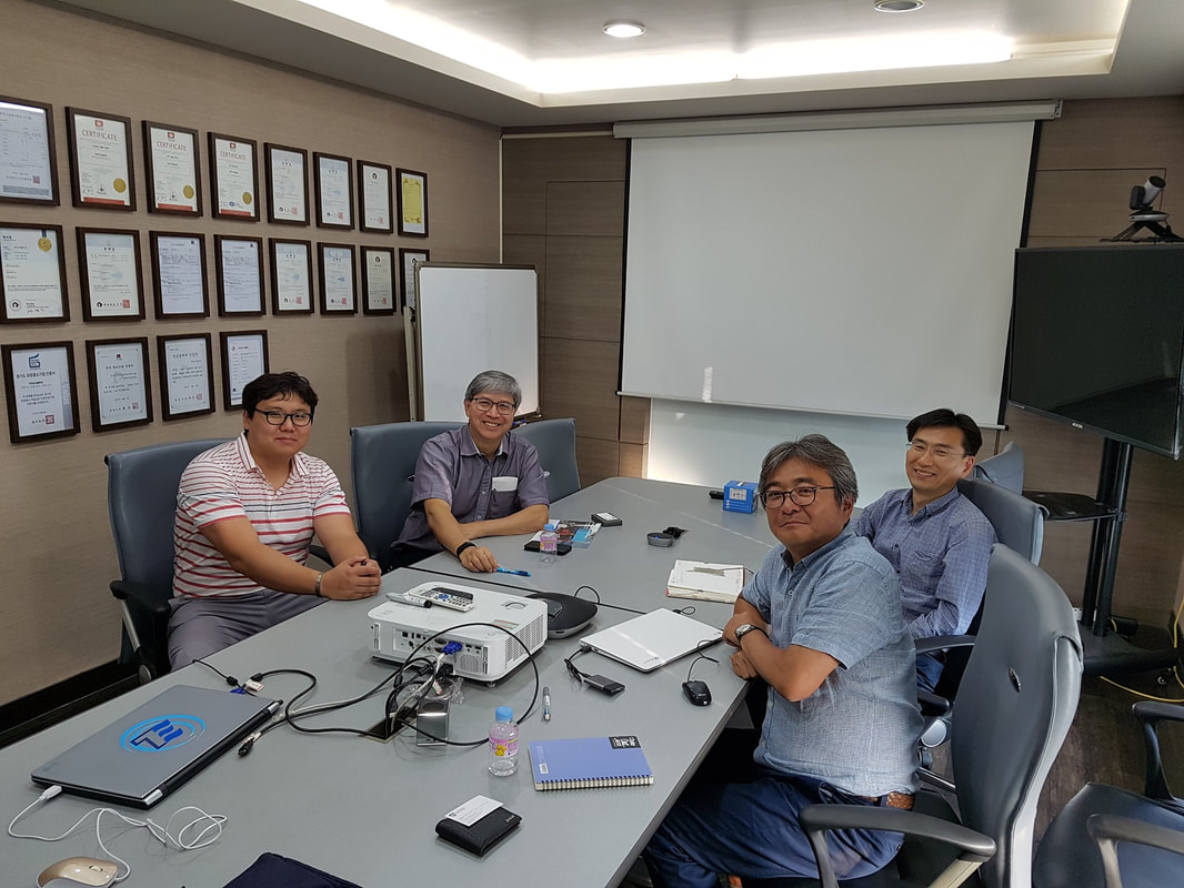 Professor Kenny Kwok visiting TESolution